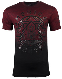 AMERICAN FIGHTER Men's T-Shirt PAXTON TEE Black Athletic Biker MMA XS-4XL