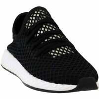 adidas Deerupt Runner Sneakers Casual    - Black - Womens