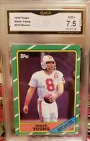 1986 Topps Steve Young GMA 7.5 Rookie BUCCANEERS 49ERS