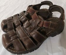 Earth spirit mens leather sandals size 9