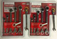 NEW Craftsman 12 Pc Ratcheting Combination Wrench Sets Metric / SAE 46629 46628