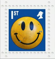 James Cauty Peterloo Massacre 200th anniversy smiley Riot shield 1st class Print