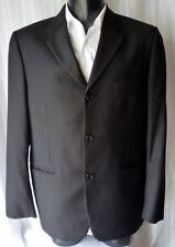 GIACCA JACKET HARRIMAN LANA SUPER 100's 100%  TG.52 made in Italy