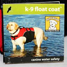 RUFFWEAR K-9 Float Coat Red & Black Size XXS