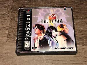 Final Fantasy VIII 8 Playstation 1 PS1 Complete CIB Excellent Discs