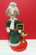 Nutcracker Village Victorian School Teacher Holiday Christmas Decor Figure