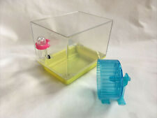 American Girl Doll Agoty 2012 McKenna Loft Bed Hamster Wheel & Cage - no lid