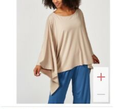 Join Clothes 3/4 Sleeve Poncho Top. One Size RRP£65 BOX42