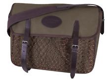 Jack Pyke Canvas Game Game Bag Green Cotton Leather Country Hunting/Shooting