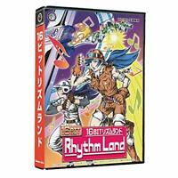 Columbus Circle 16 Bit Rhythm Land MD SEGA MEGADRIVE w/Soundtrack CD NEW