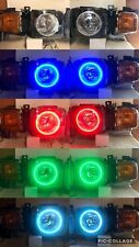 2006 - 2010 HUMMER H3 HALO HEADLIGHT KIT RGB COLORSHIFT MULTI COLORED W/REMOTE