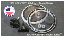 GROOVMASTER™  THE Original & BEST Label Saver Record Cleaner Label Protector