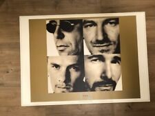 U2 Pop Lithograph Limited Edition #54/500, w/ Certificate of Authenticity