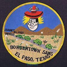 "LMH Patch 1970s GOOD SAM CLUB Samboree Rally BORDERTOWN SAMS  El Paso TX Star 6"""