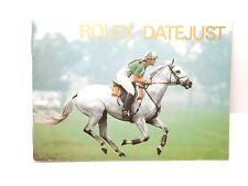 Rolex watch Booklet Datejust 1997