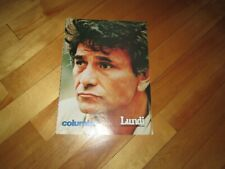 PETER FALK  COLUMBO  POSTER COLOR 8 BY 11