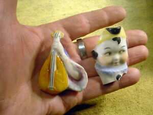 10 x excavated vintage damaged doll parts Germany age 1890 mixed media Art B 323