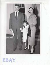 Shirley Temple w/husband Charles Black VINTAGE Photo w/daughter Linda