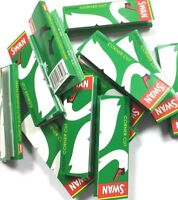 1000 SWAN GREEN REGULAR ROLLING PAPERS 20 BOOKLETSX 50 PAPERS EACH BOOKLET UK
