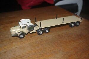 solido non demontable camion berliet sahara remorque titan