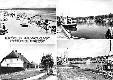 AK, Kröslin Kr. Wolgast, OT Freest, vier Abb., 1977