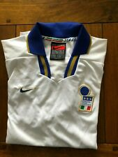 ITALY NATIONAL TEAM 1996/1998 AWAY FOOTBALL SHIRT JERSEY NIKE SIZE XL ADULT
