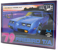 MPC 1979 Pontiac Firebird T/A 3-In-1 1/25 Plastic Model Car Kit 820