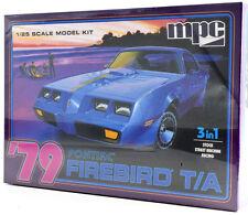 MPC 1979 Pontiac Firebird T/A 3-In-1 1/25 Plastic Model Car Kit 820