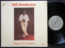 BILL HENDERSON Street Of Dreams LP DISCOVERY RECORDS DS-802 US 1979 JAZZ