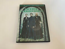 DVD - Matrix Reloaded, 2 Disc Edition, Science-Fiction-Film mit Keanu Reeves