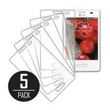 MPERO Collection 5 Pack of Clear Screen Protectors for LG Optimus L3 II E430