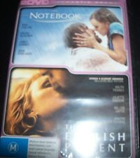 The Notebook / The English Patient (Australia Region 4) 2 DVD - New