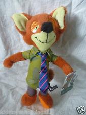 "Disney ZOOTOPIA Movie - Licensed NICK WILDE FOX 9"" 23cm PLUSH Soft Toy Doll BNWT"