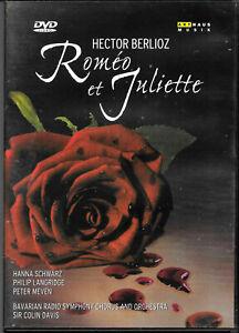 Berlioz, Hector - ROMEO Et JULIETTE - DVD - Hanna Schwarz - Sir Colin Davis VGC.
