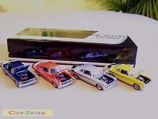 1:43 GMP 1970 Yenko Deuce Chevrolet Nova LT1 350, 4 Car Set, Serial # 002