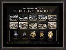 Richmond VFL Honour Roll with Medallions Print Framed - OFFICIAL BARTLETT 1980