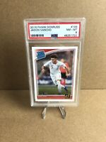 2018-19 Panini Donruss Jadon Sancho Rated Rookie No.189 England PSA 8