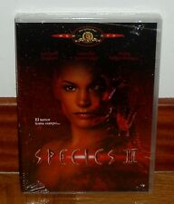 SPECIES II-DVD-NUEVO-PRECINTADO-NEW-SEALED-CIENCIA FICCION-TERROR-FANTASTICO