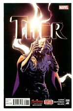 1)THOR Vol.4 #8(7/15)DR JANE FOSTER REVEALED AS FEMALE THOR(VALKYRIE)(9.8)CGC IT