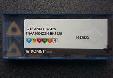 Tournant Plaques 10 X Comète q12 32000.078425 tnaA 1604zzn bk8425 Carbide Inserts