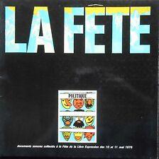 FETE DE LA LIBRE EXPRESSION MAI 1975 LP LAVILLIERS-ARESKI et FONTAINE......