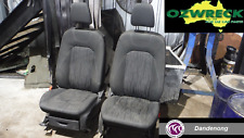 2014 FORD ECOSPORT BK TREND FRONT SEATS PAIR