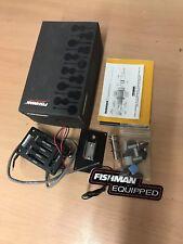 Fishman Matrix Pro Control Deslizante recogida acústica y sistema de preamplificación para guitarra acústica