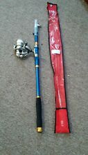 Telescopic Finished rod and reel