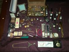 New listing Vintage Junk Drawer Lot Bunch Of Goodies Silver? Gold?