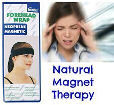 UNISEX Magnetic Healing Forehead Wrap Alternative Therapy for Migraine Pain +