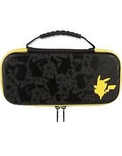PowerA - Pikachu Silhouette Protection Case for Nintendo Switch - Black/Yellow