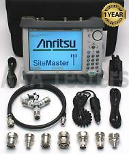 Anritsu Site Master S331e Cable Amp Antenna Analyzer Sitemaster With Opts 101921