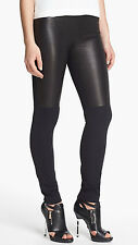 Milly-Bri-Front-Lamb-Leather-Panel-Knit-Leggings-