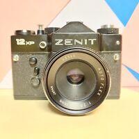 Zenit 12XP 35mm SLR Film Camera with 40mm F2.8 Autoflex Lens! Retro Lomo!